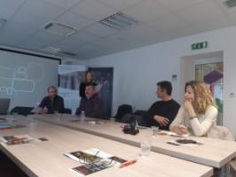 """Održan četvrti trening za prenošenje znanja i vještina u sklopu projekta """" Forest Bioenergy in the Protected Mediterranean Areas - ForBioEnergy """", u prostoru COIN Coworkinga Zadar"""
